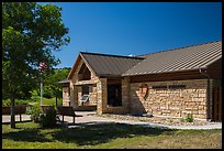 North Unit Visitor Center. Theodore Roosevelt National Park ( color)
