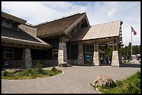 Canyon Village Visitor Education Center. Yellowstone National Park ( color)
