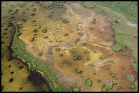 Aerial view of Mangrove islands in Jones Lagoon. Biscayne National Park ( color)