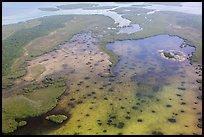Aerial view of Jones Lagoon. Biscayne National Park ( color)
