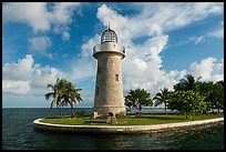 Lighthouse, Boca Chita Key. Biscayne National Park ( color)