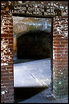 Cell of Dr Mudd. Dry Tortugas National Park, Florida, USA.