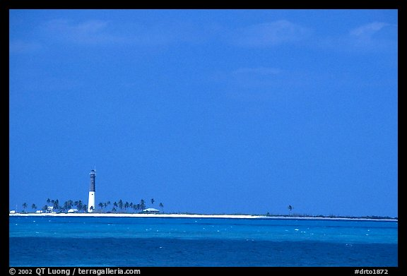 Loggerhead Key and lighthouse. Dry Tortugas National Park (color)