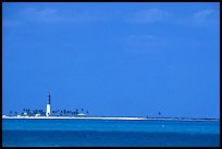Loggerhead Key and lighthouse. Dry Tortugas National Park, Florida, USA. (color)