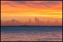 Loggerhead key at sunset. Dry Tortugas National Park ( color)