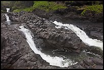 Pipiwai Stream, high water. Haleakala National Park ( color)