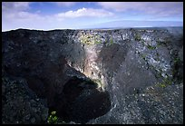 Mauna Ulu crater. Hawaii Volcanoes National Park, Hawaii, USA.