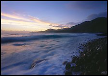 Vatia Bay at dawn, Tutuila Island. National Park of American Samoa ( color)