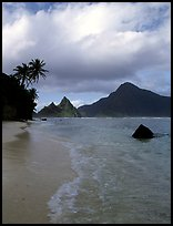 South Beach, Ofu Island. National Park of American Samoa