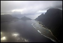Aerial view of Ofu and Olosega Islands. National Park of American Samoa ( color)