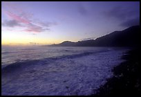 Vatia Bay at dawn, Tutuila Island. National Park of American Samoa