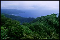 View from Mont Alava, Tutuila Island. National Park of American Samoa