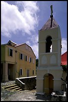 Emmaus Moravian church, Coral Bay. Saint John, US Virgin Islands ( color)