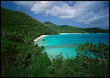 Hawksnest Bay. Virgin Islands National Park, US Virgin Islands. (color)