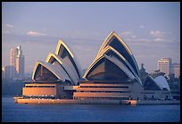 Opera house. Sydney, New South Wales, Australia ( color)