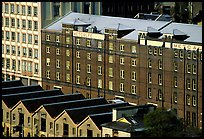 Colonial-era buildings of the Rocks. Sydney, New South Wales, Australia ( color)