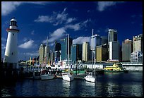 Darling harbour. Sydney, New South Wales, Australia ( color)