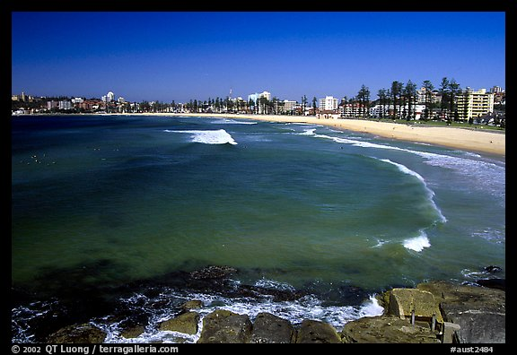 Manly beach. Sydney, New South Wales, Australia