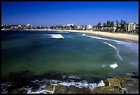 Manly beach. Sydney, New South Wales, Australia (color)