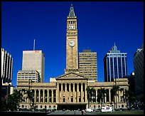 City council. Brisbane, Queensland, Australia (color)
