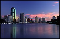 Dawn on the Brisbane River. Brisbane, Queensland, Australia