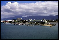 Aerial view of Cairns. Queensland, Australia ( color)