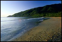 Beach near Cape Tribulation. Queensland, Australia