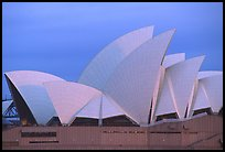 Roof of the Opera house. Sydney, New South Wales, Australia (color)