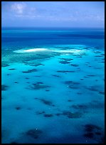Turquoise waters. The Great Barrier Reef, Queensland, Australia ( color)