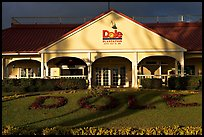 Dole Plantation visitor center. Oahu island, Hawaii, USA (color)