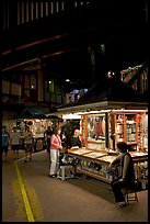 Craft stands, International Marketplace. Waikiki, Honolulu, Oahu island, Hawaii, USA (color)