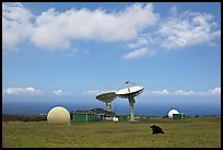 South Point satellite station. Big Island, Hawaii, USA ( color)