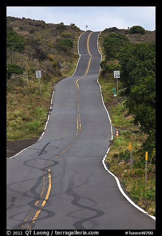 Pilani Highway. Maui, Hawaii, USA
