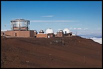 Maui Space Surveillance Complex, Haleakala observatories. Maui, Hawaii, USA ( color)