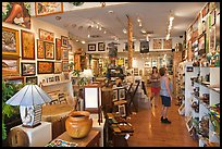 Art gallery. Lahaina, Maui, Hawaii, USA