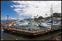 Lahaina harbor. Lahaina, Maui, Hawaii, USA ( color)