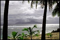 Olosega island seen from Tau. American Samoa ( color)