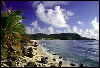 Coast and Cape Mataula. Tutuila, American Samoa ( color)