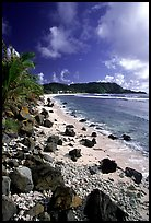 Coast and Cape Mataula. Tutuila, American Samoa (color)