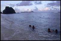 Children in the water. Tutuila, American Samoa ( color)