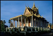 Silver Pagoda, Royal palace. Phnom Penh, Cambodia ( color)
