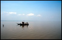 Immensity of the Tonle Sap. Cambodia ( color)