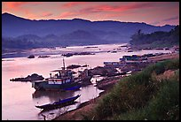 Pictures of Mekong river