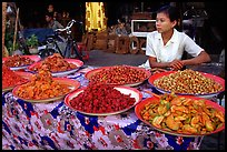 Food vendor. Mandalay, Myanmar (color)