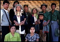 Padaung people, Kalaw. Shan state, Myanmar (color)