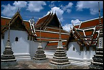 Wat Pho, the oldest and largest Wat in Bangkok. Bangkok, Thailand ( color)