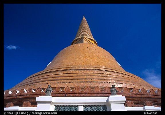 Picture/Photo: Phra Pathom Chedi. Nakhon Pathom, Thailand