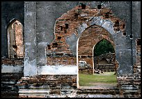 Ruins of the King Narai's palace. Lopburi, Thailand (color)