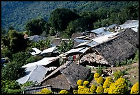 Hmong village. Chiang Mai, Thailand ( color)