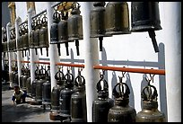 Bells at Wat Phra That Doi Suthep. Chiang Mai, Thailand ( color)